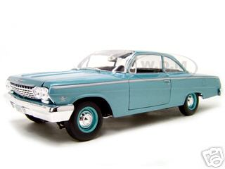 1962 Chevrolet Bel Air Turquoise 1/18 Diecast Model Car by Maisto