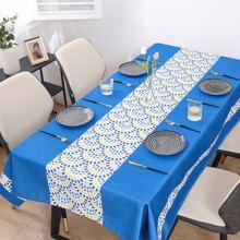 Tischtuch mit Grafik Muster