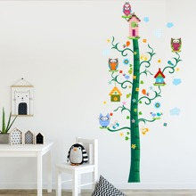 Cartoon Height Measurement Wall Sticker