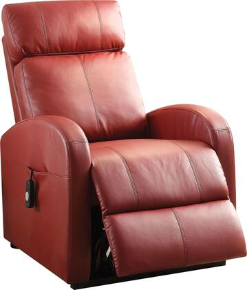 Ricardo Collection 59406 Power Lift Recliner with Curved Track Arms  Side Pocket  Tight Cushions  Power Wired Controller  Metal Reclining Mechanism