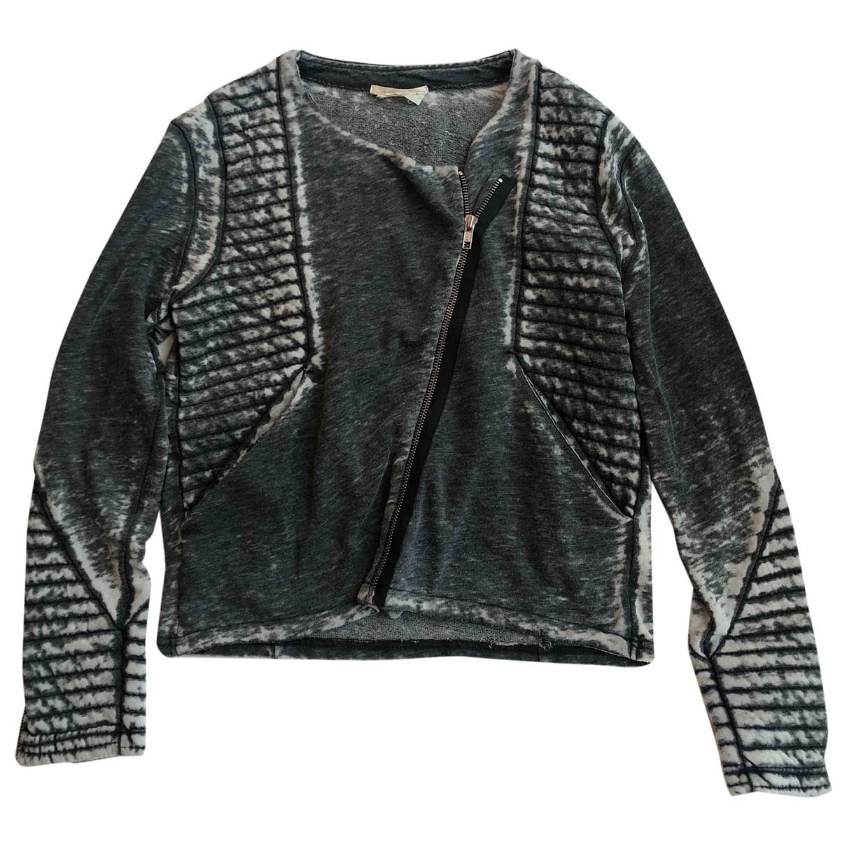 American Vintage \N Jacke in  Grau Baumwolle