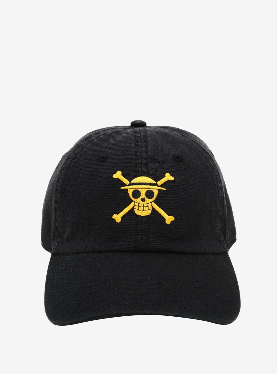 One Piece Straw Hat Skull Cap
