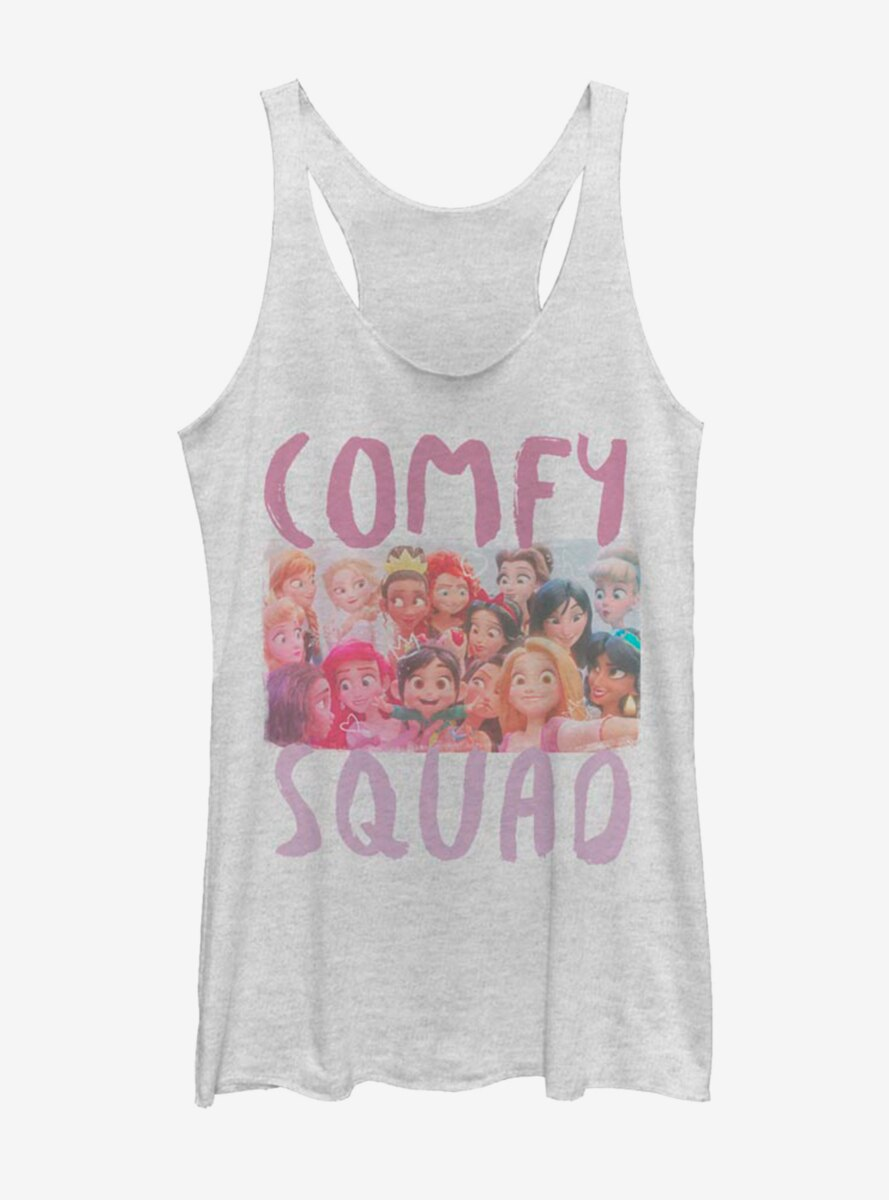 Disney Princess Comfy Squad Selfie Womens Tank
