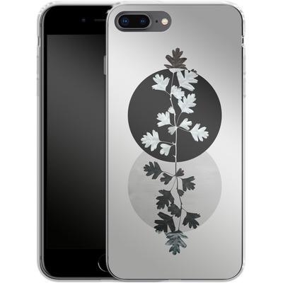 Apple iPhone 8 Plus Silikon Handyhuelle - Geometry and Nature 2 von Mareike Bohmer