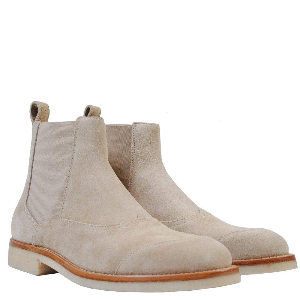 Belstaff Ladbrooke Boots Colour: BEIGE, Size: UK 7