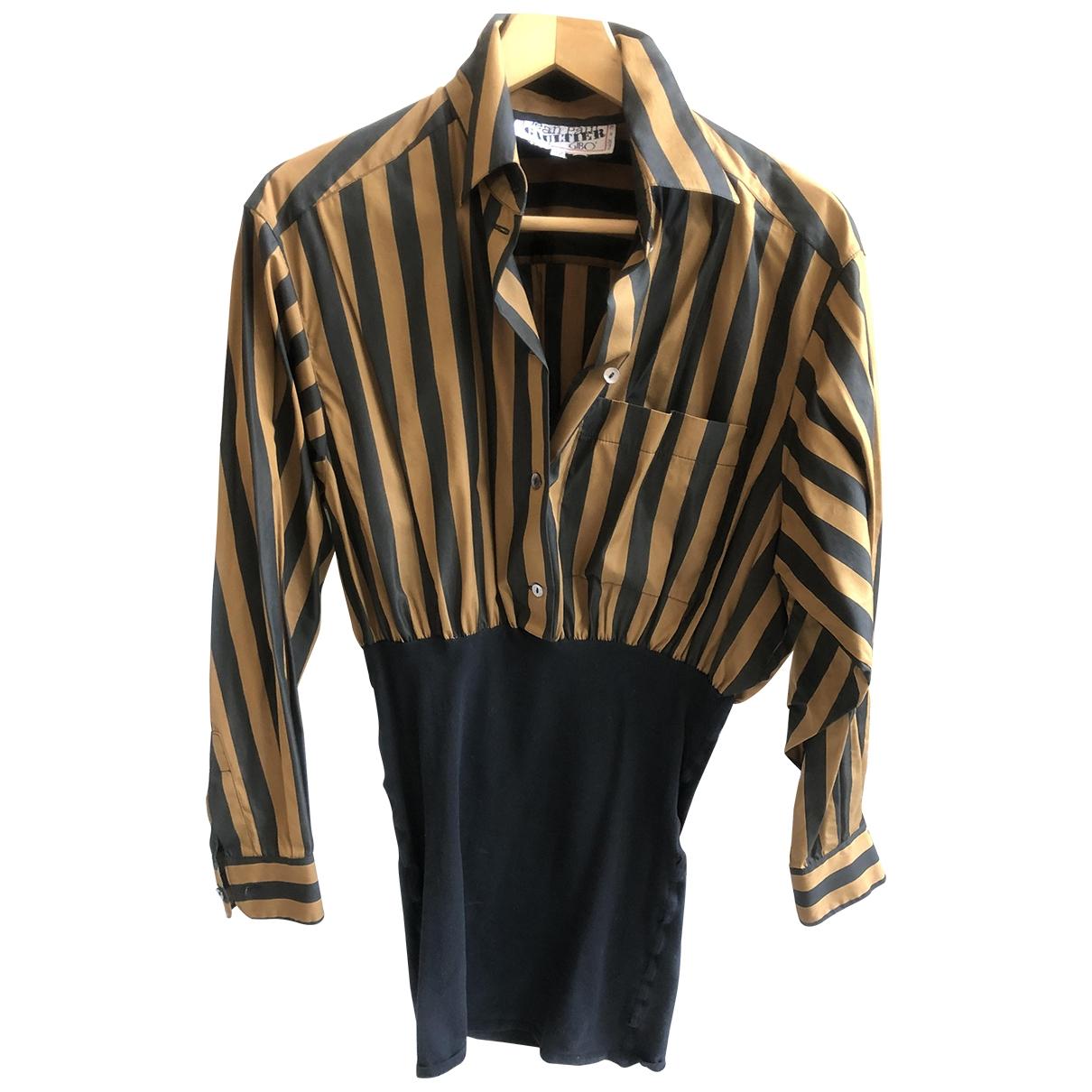 Jean Paul Gaultier \N Black Cotton  top for Women 42 IT