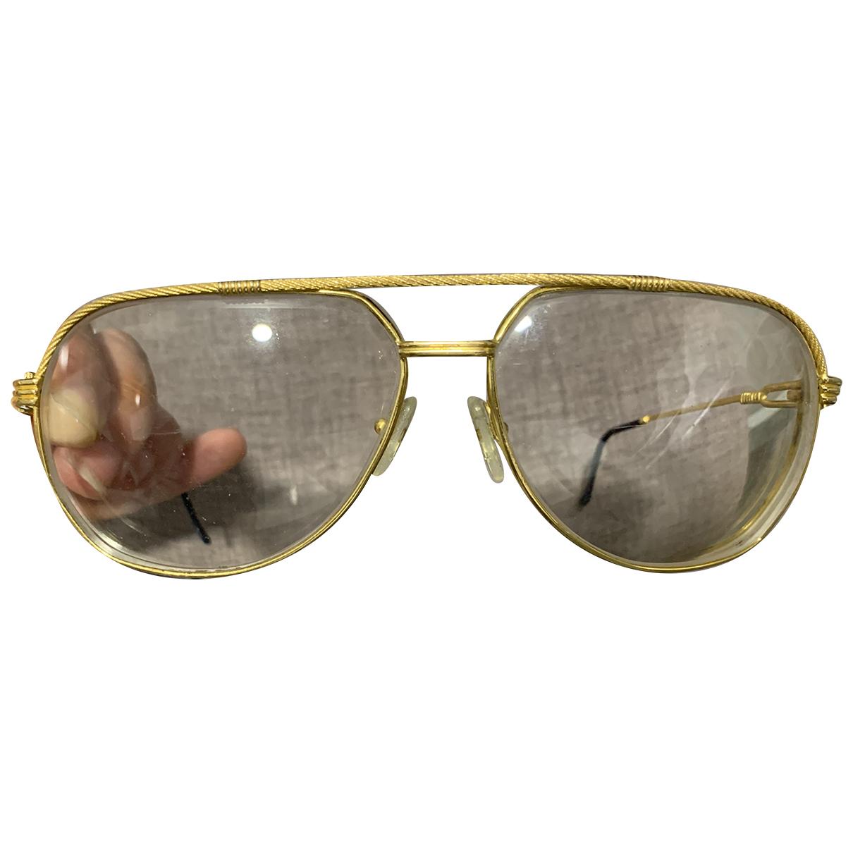 Fred \N Sonnenbrillen in  Gold Metall