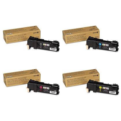 Xerox 106R01597 106R01596 106R01595 106R01594 cartouche de toner haute capacité combo BK/C/M/Y