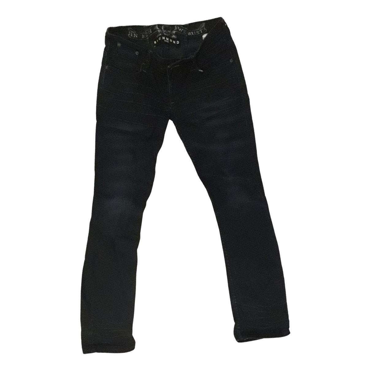 John Richmond \N Blue Denim - Jeans Jeans for Women 30 US