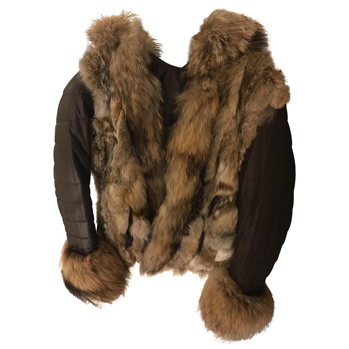 Pellicciai \N Brown Fur coat for Women 42 IT