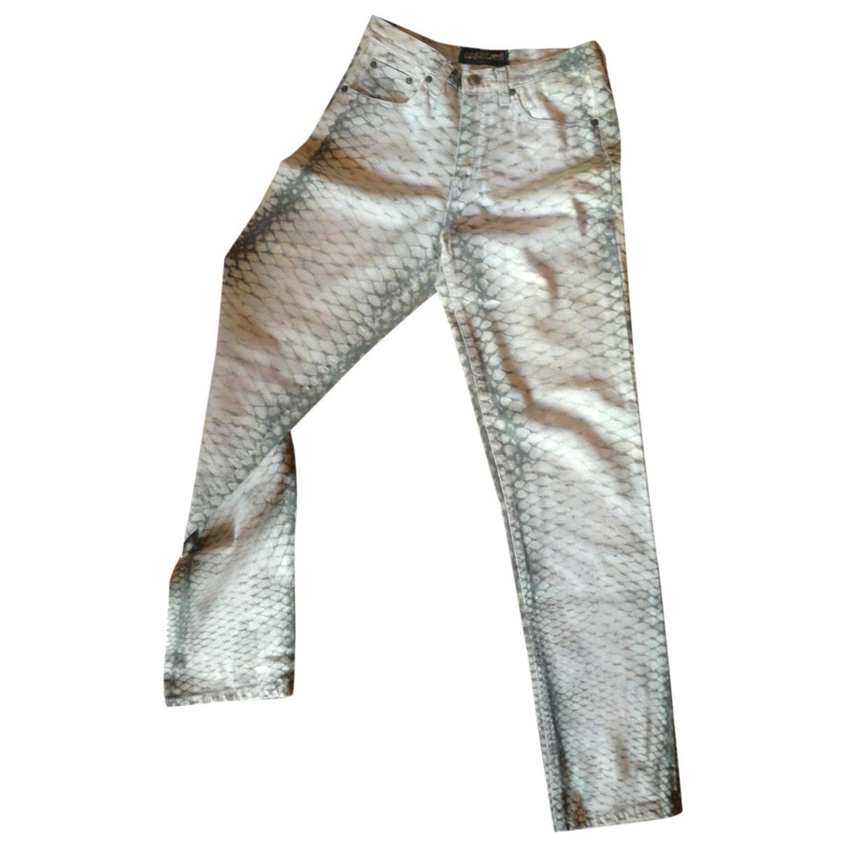 Roberto Cavalli \N Jeans in Baumwolle