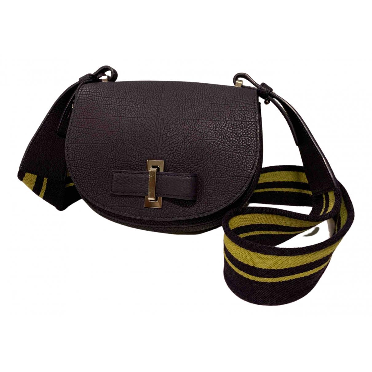Delvaux Mutin Purple Leather handbag for Women N