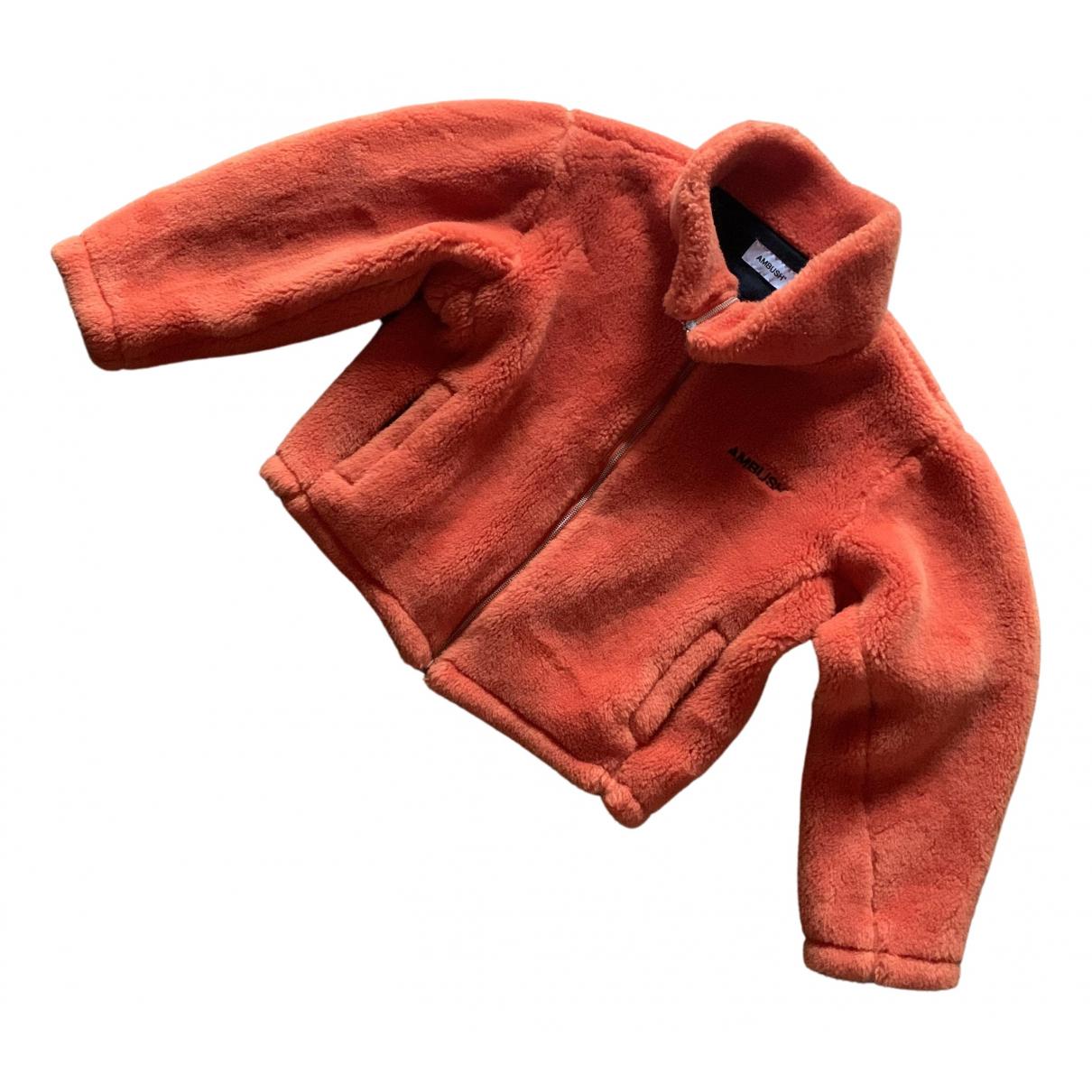 Ambush \N Orange Wool coat for Women 2 0-5