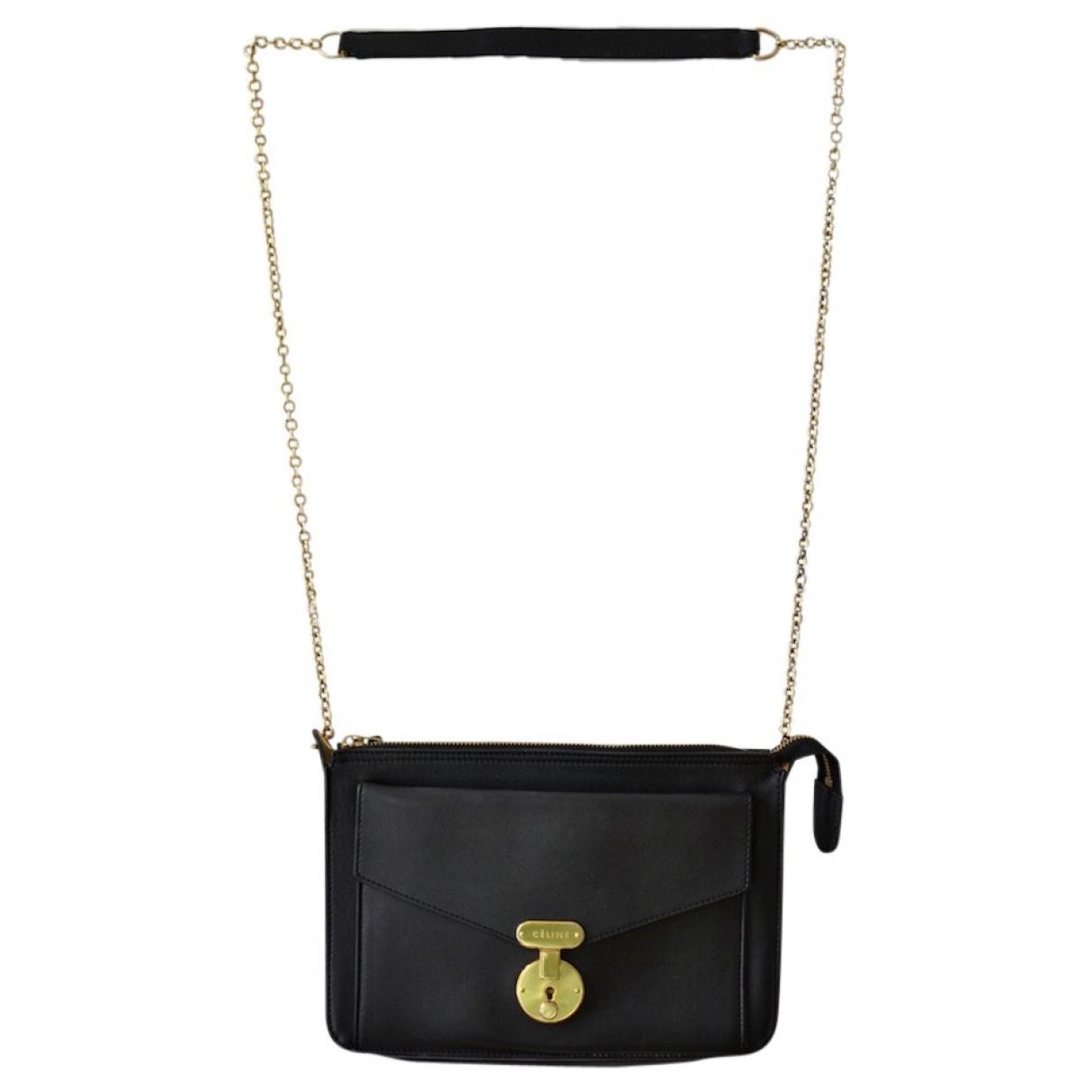 Celine \N Blue Leather handbag for Women \N