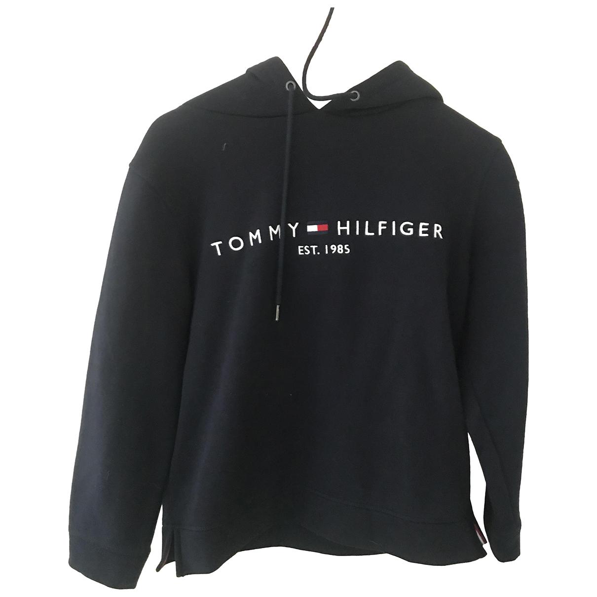 Tommy Hilfiger \N Pullover in  Marine Baumwolle
