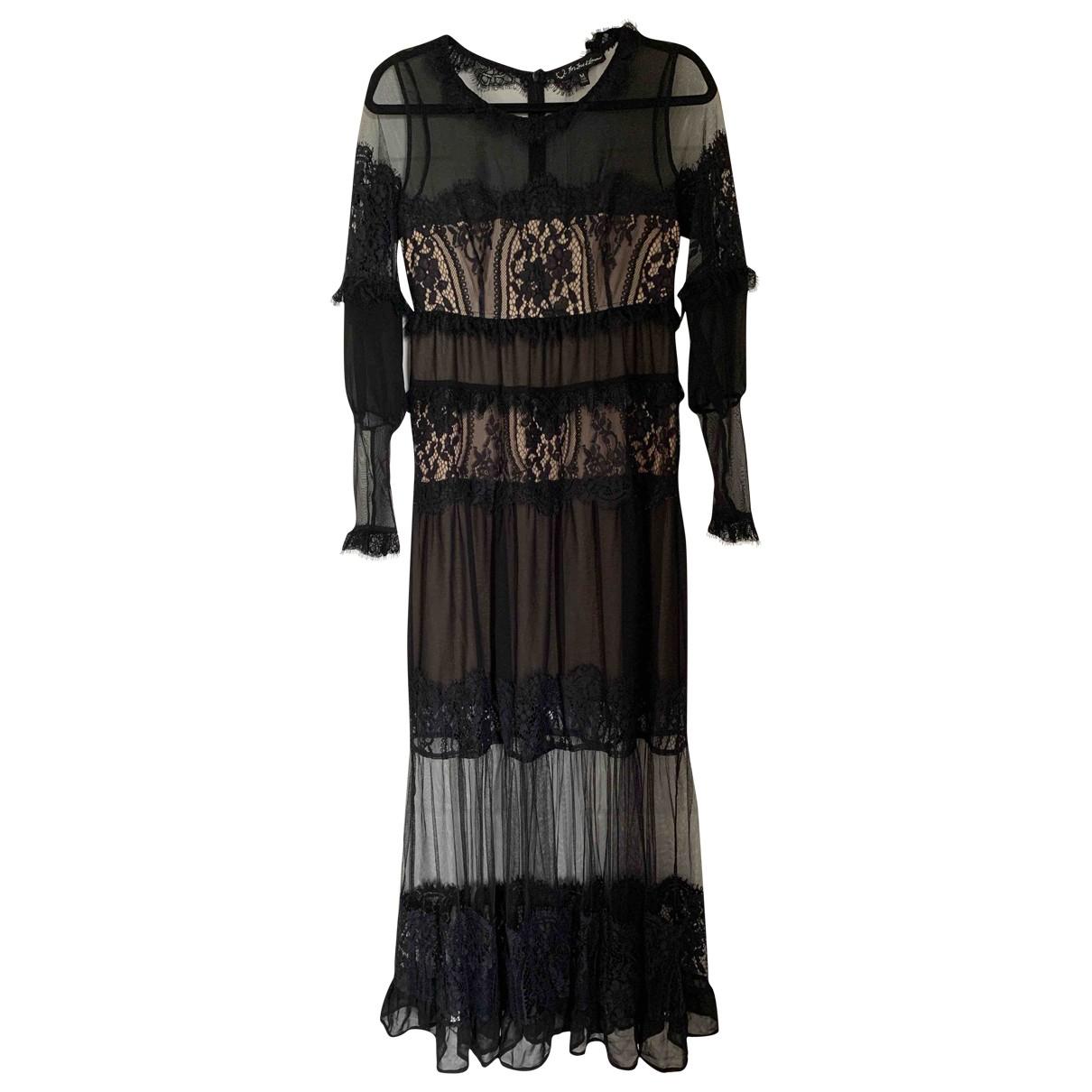 For Love & Lemons \N Black Lace dress for Women M International