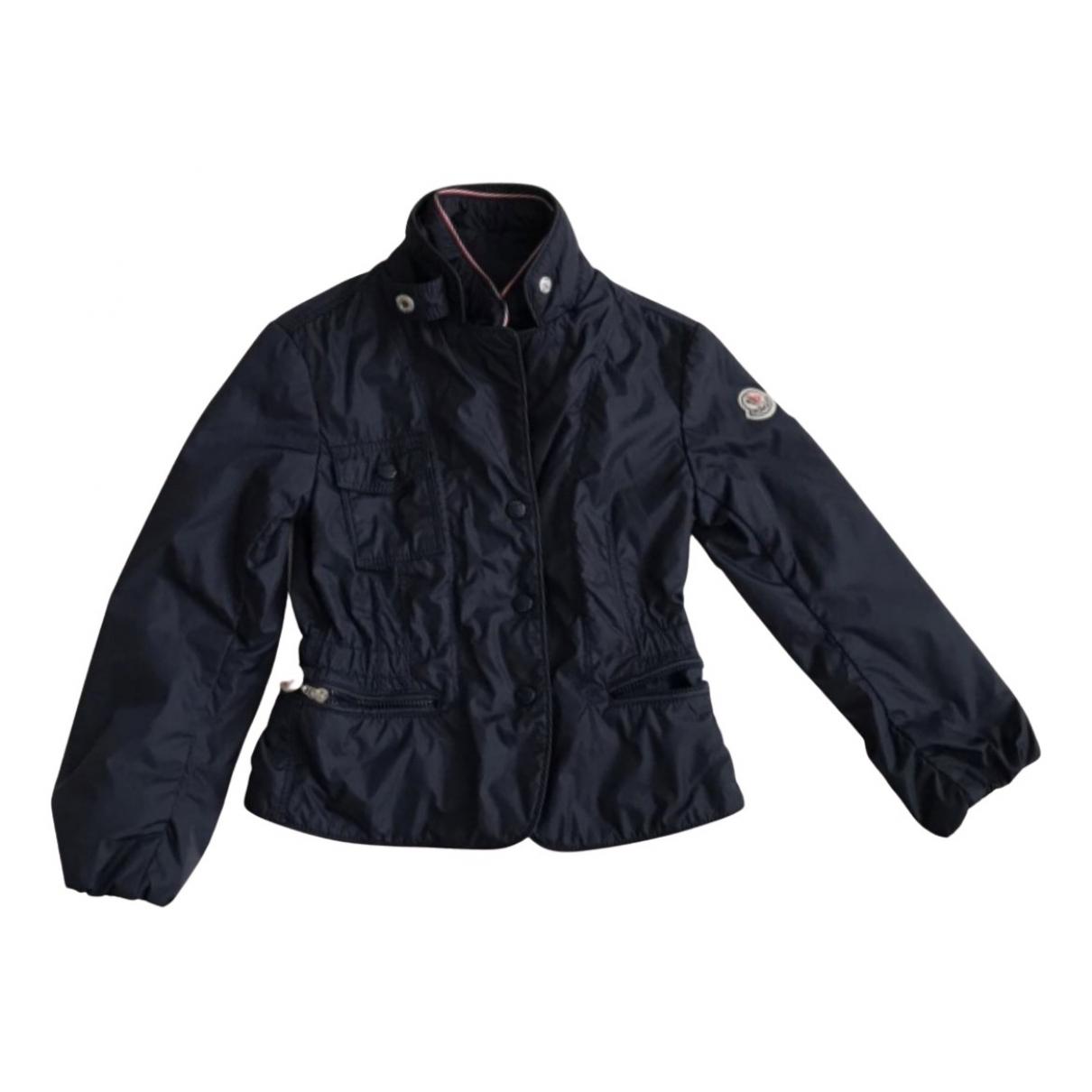 Moncler - Blousons.Manteaux Classic pour enfant - bleu