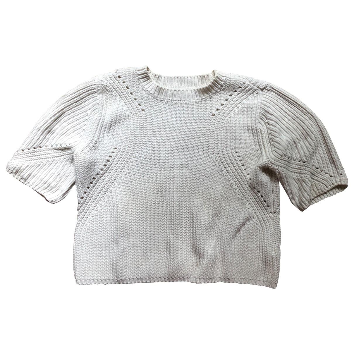 Whistles \N White Cotton Knitwear for Women 40 FR