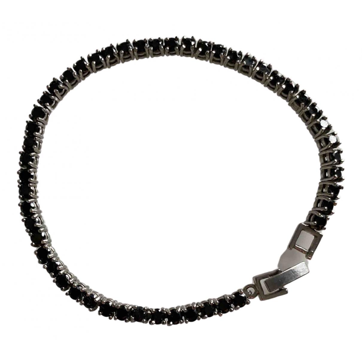 - Bracelet Tennis pour femme en metal - noir