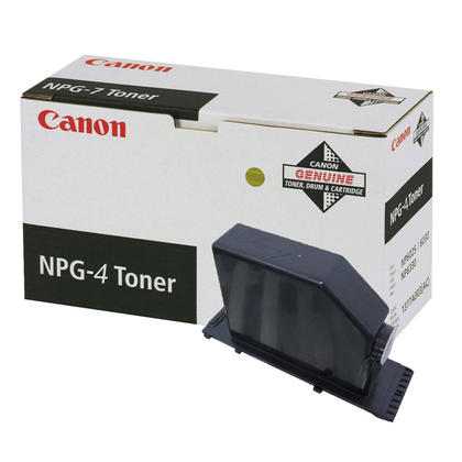 Canon NPG4 1375A004AA Original Black Toner Cartridge
