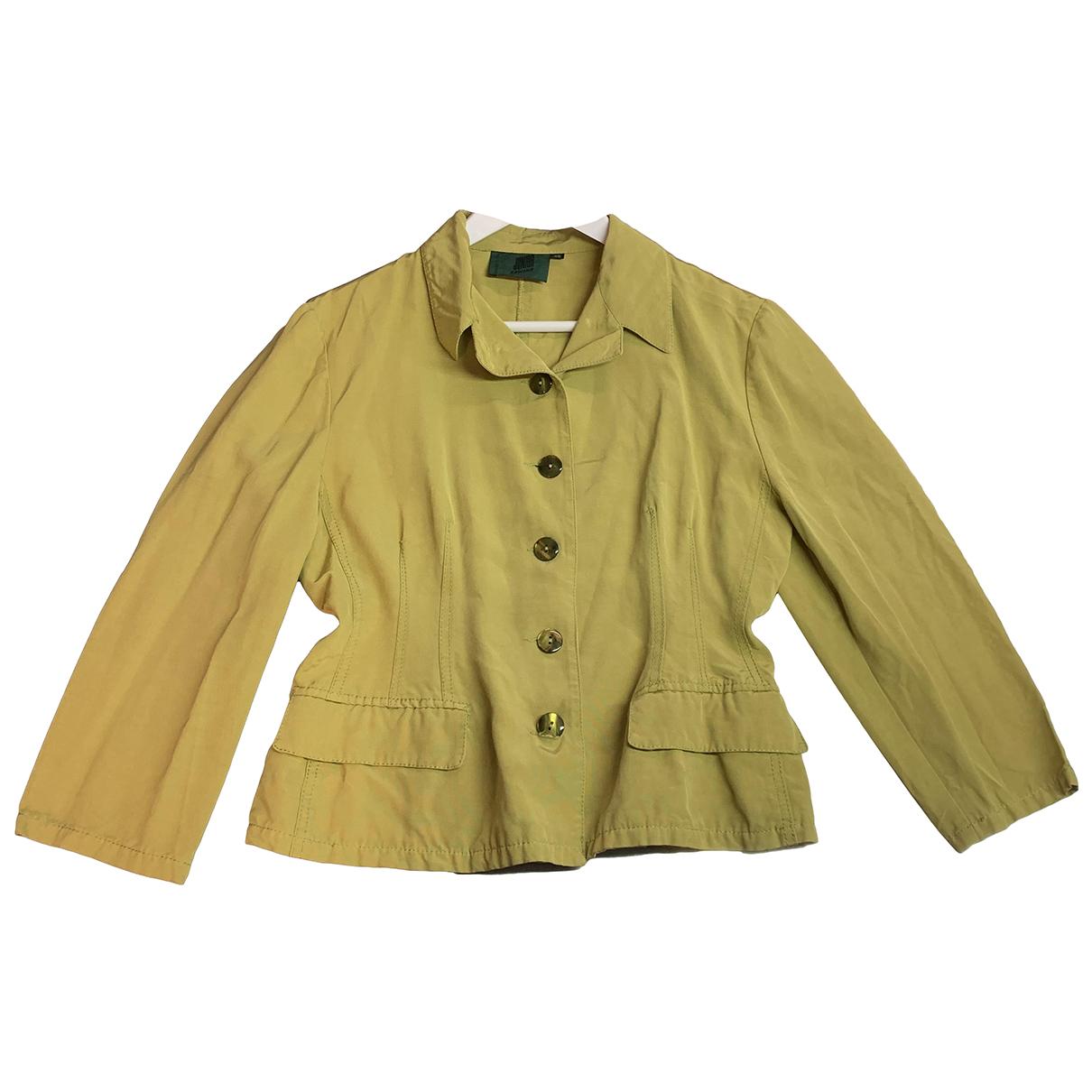 Jean Paul Gaultier - Veste   pour femme en coton - jaune