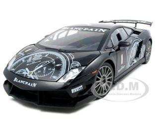 Lamborghini Gallardo LP560-4 Super Trofeo Black 1/18 Diecast Model Car by Motormax