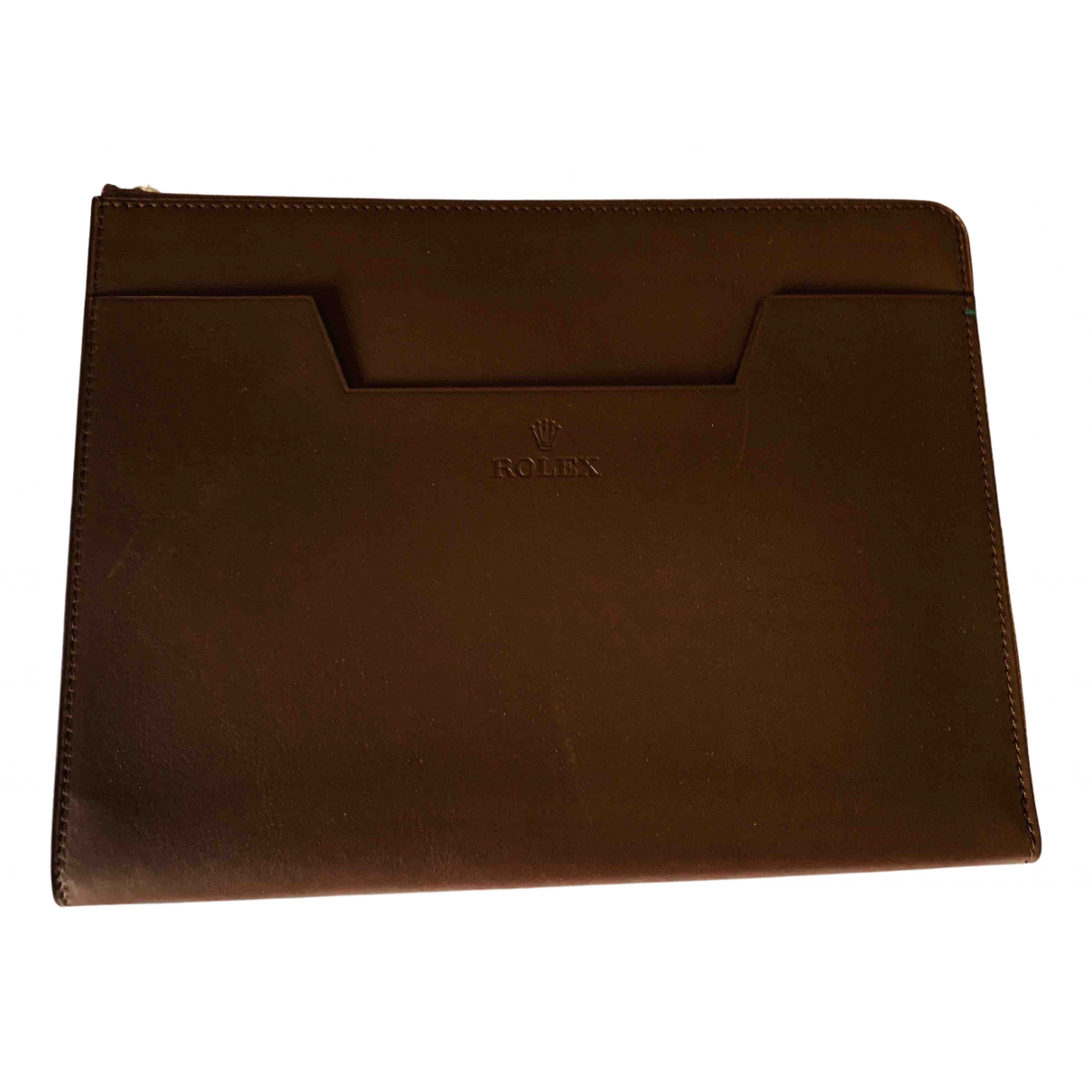 Rolex - Accessoires   pour lifestyle en cuir - marron