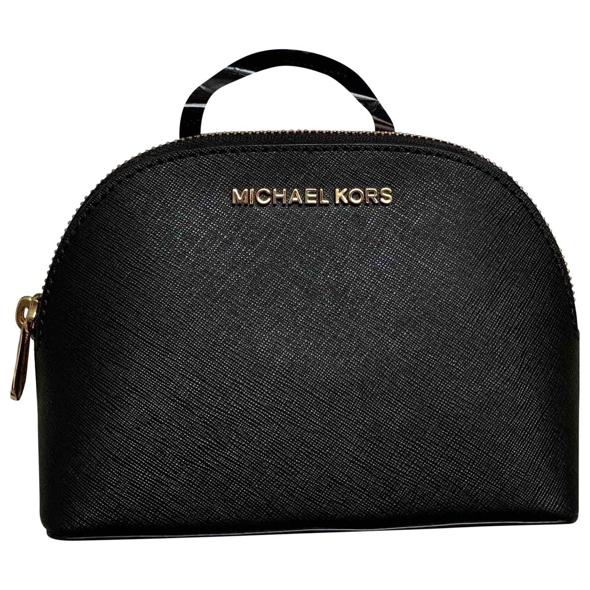 Michael Kors \N Black Leather Travel bag for Women \N