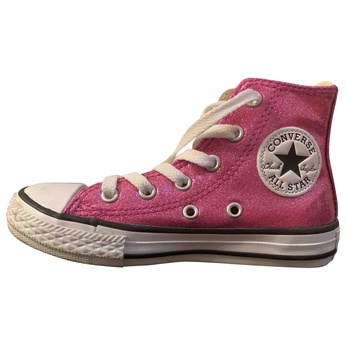 Converse \N Sneakers in  Rosa Kautschuk