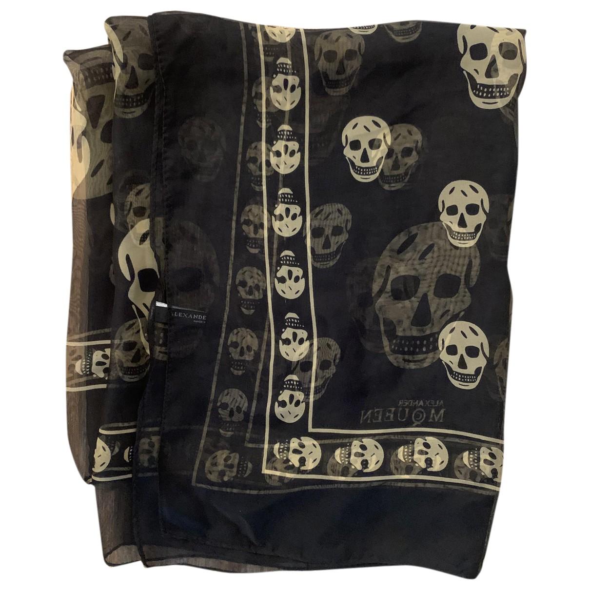 Alexander Mcqueen N Black scarf for Women N