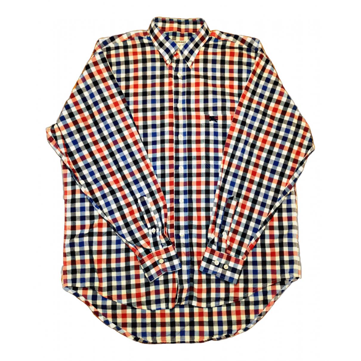 Burberry - Chemises   pour homme en coton - multicolore
