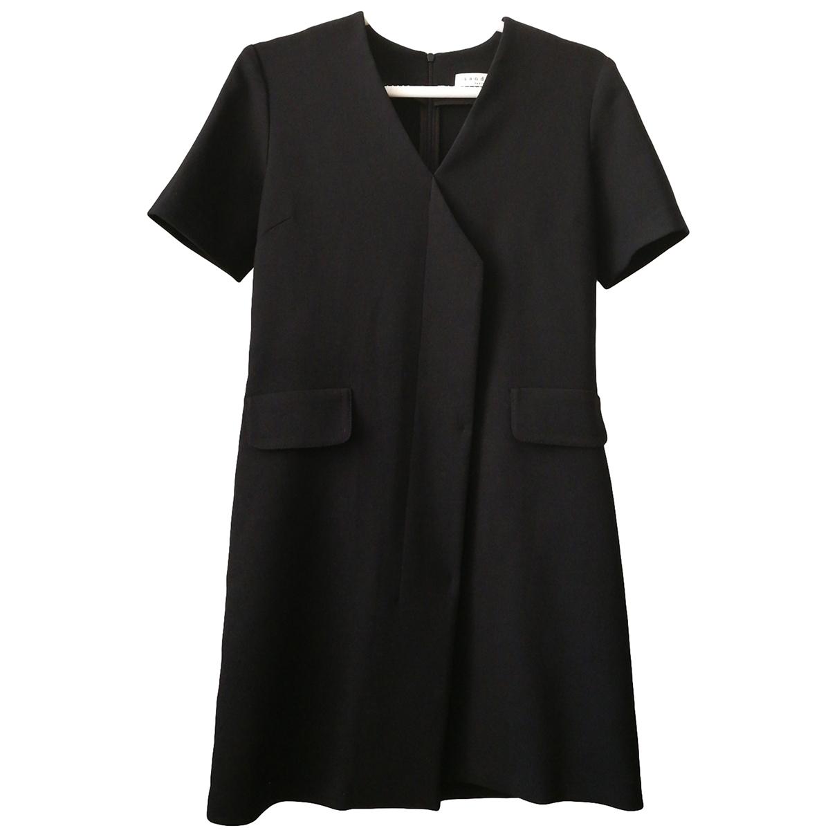 Sandro \N Black dress for Women 40 FR