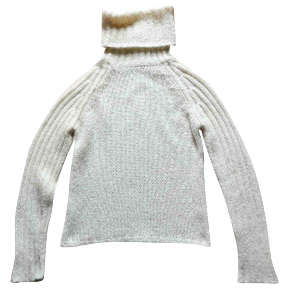 Roberto Collina \N Pullover in  Weiss Wolle