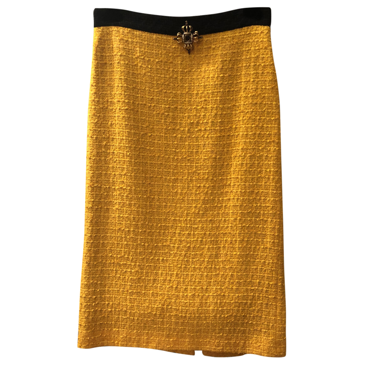 Gucci N Yellow Cotton skirt for Women 44 IT