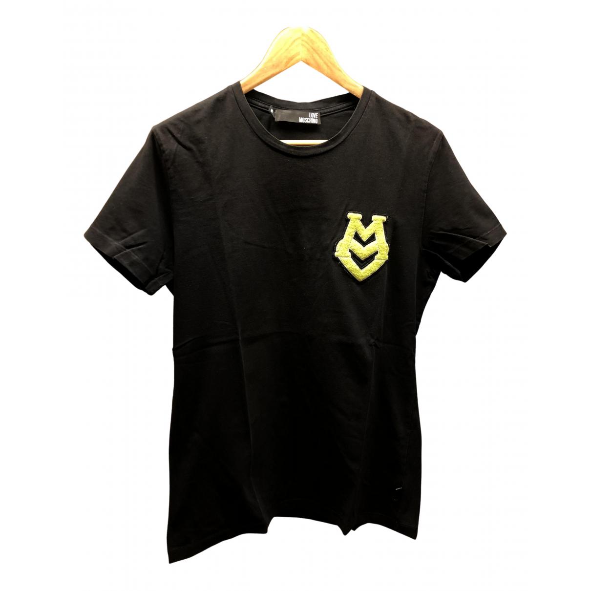 Moschino Love \N T-Shirts in  Schwarz Baumwolle
