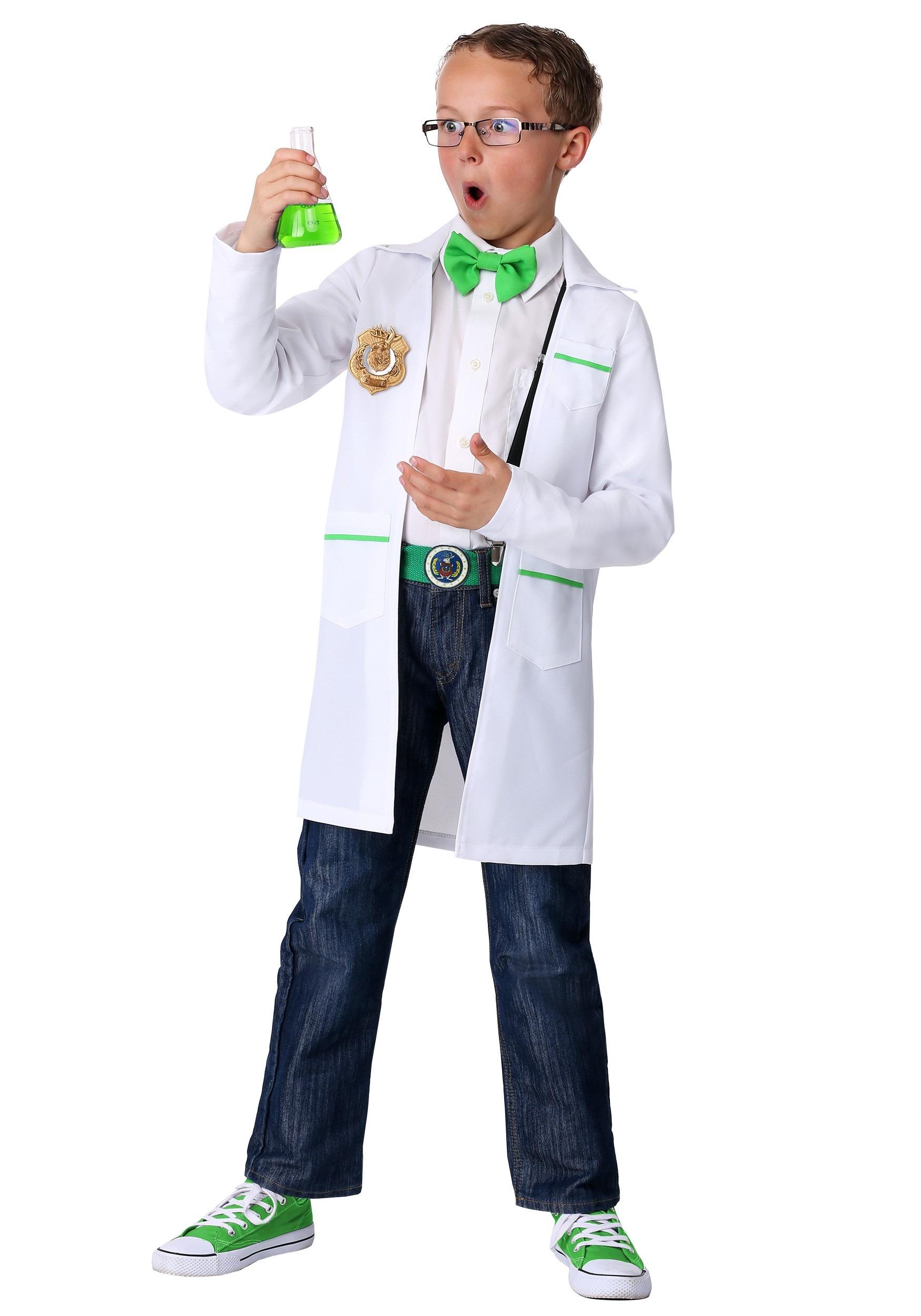 Kids ODD SQUAD Scientist Costume