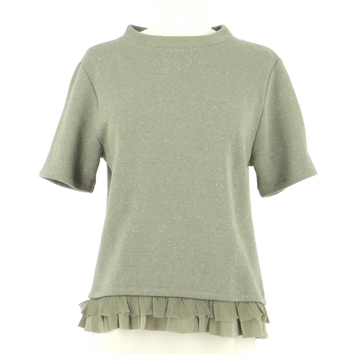 Vanessa Bruno Athe \N Green Cotton Knitwear & Sweatshirts for Men 42 FR