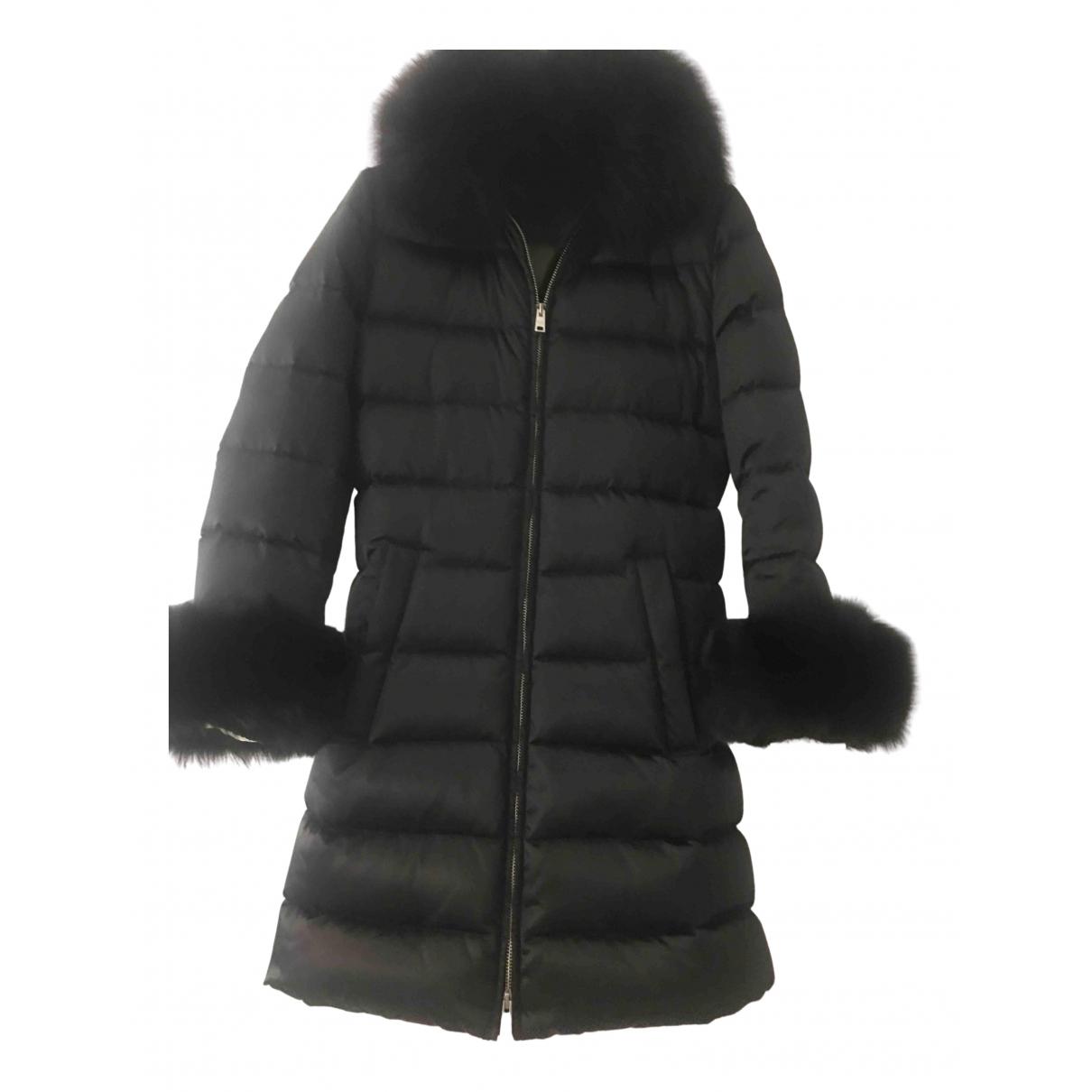 Prada N Black Silk coat for Women 36 IT