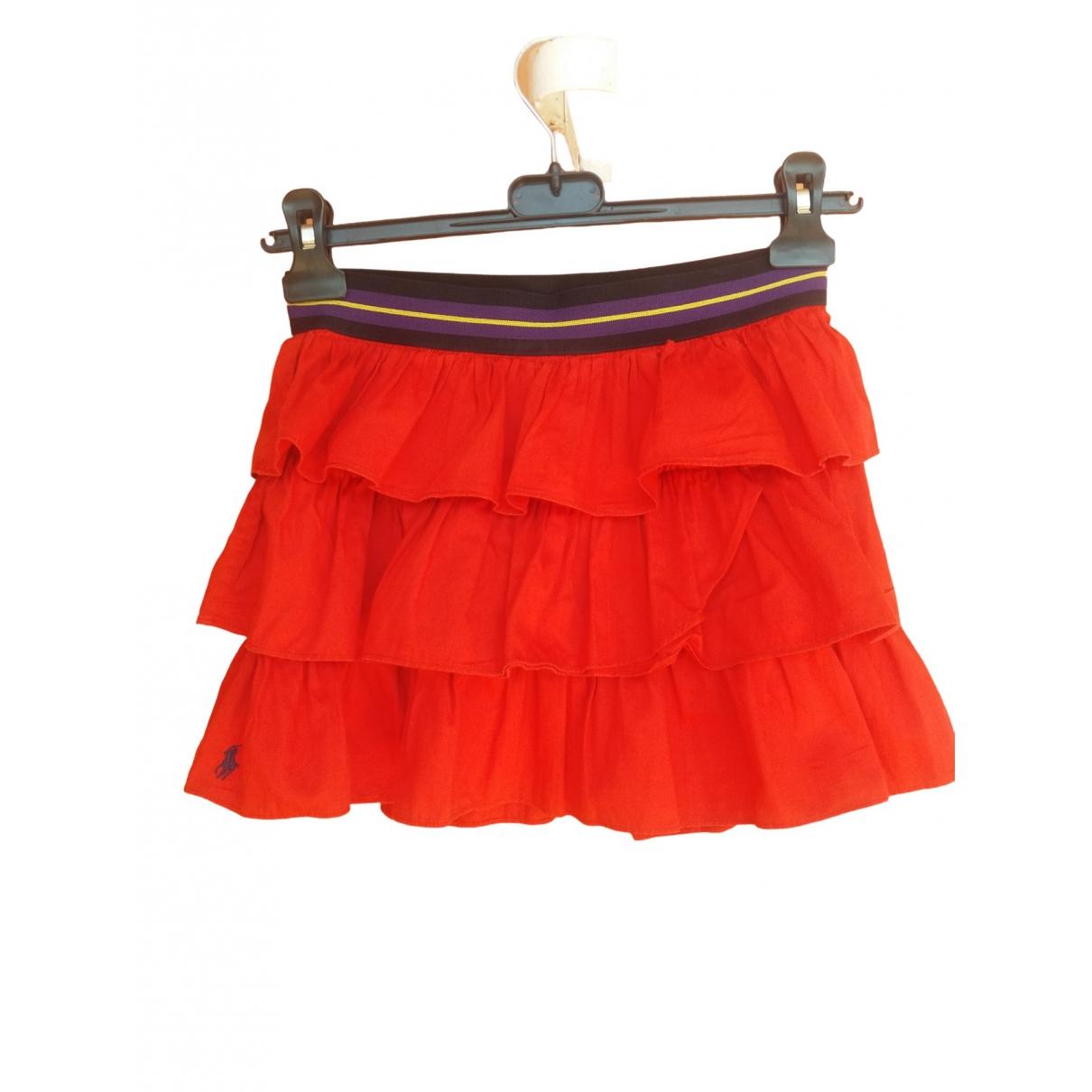 Ralph Lauren \N Rocke in  Rot Baumwolle