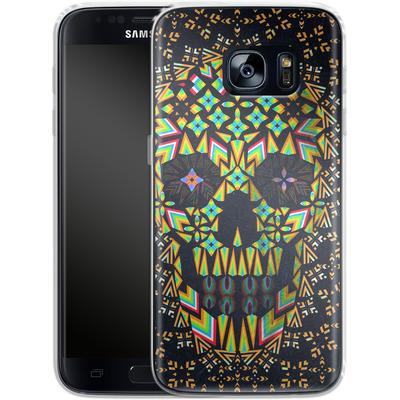 Samsung Galaxy S7 Silikon Handyhuelle - Skull 6 von Ali Gulec