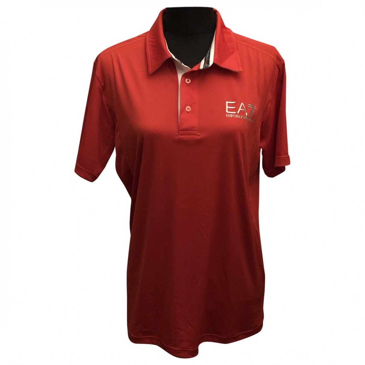 Emporio Armani \N Poloshirts in  Rot Polyester