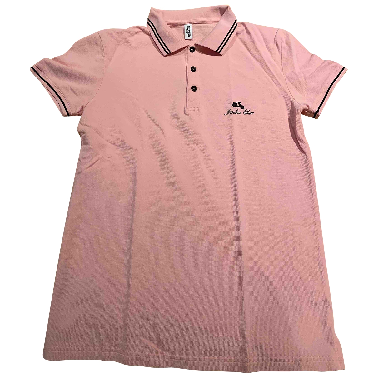 Moschino \N Pink Cotton Polo shirts for Men M International