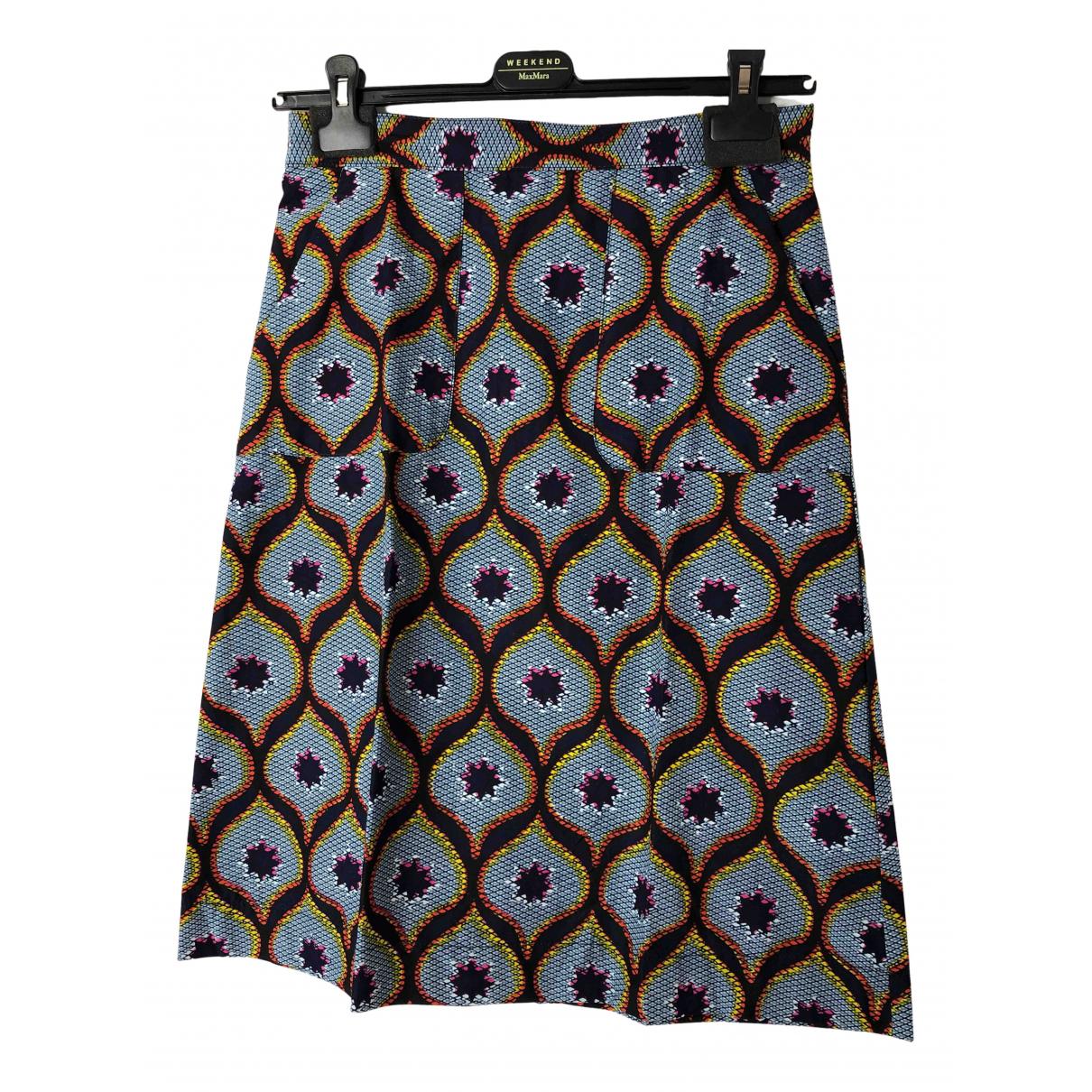 Cyrillus - Jupe   pour femme en coton - multicolore