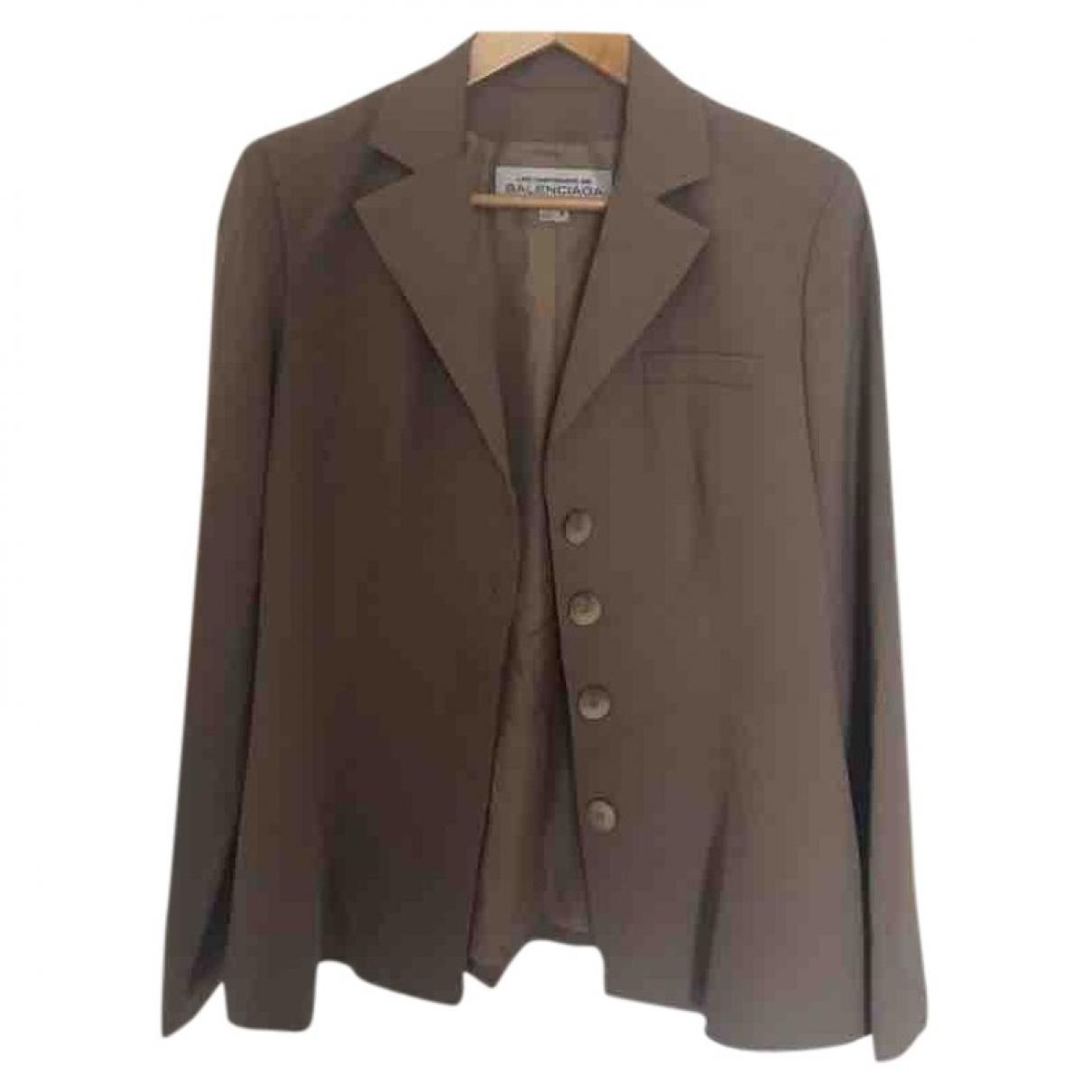 Balenciaga - Veste   pour femme - beige