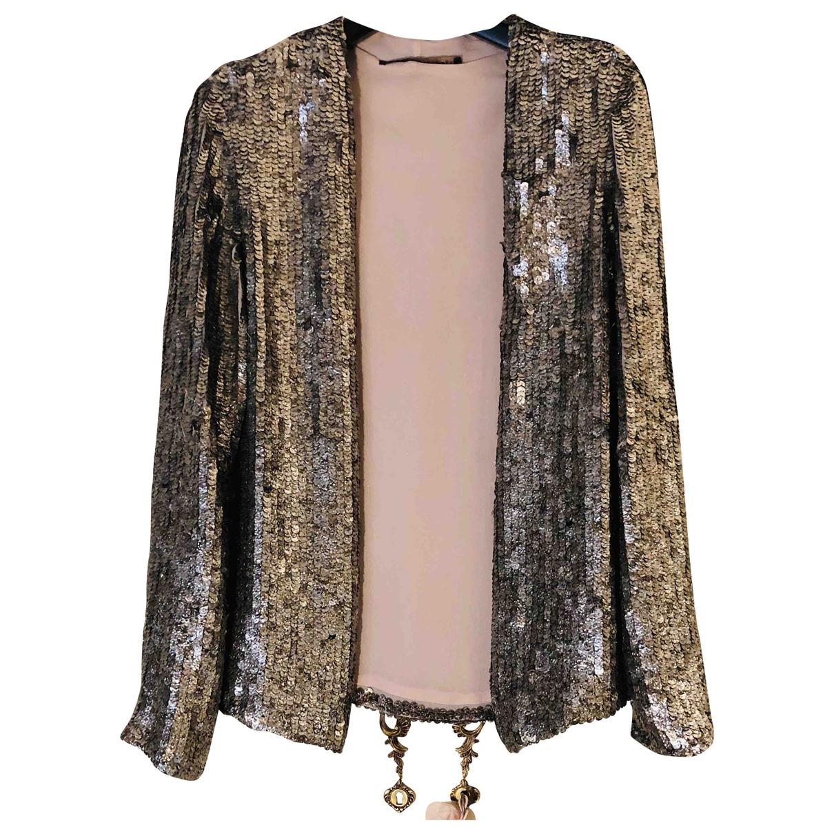 Zara \N Silver Glitter jacket for Women S International