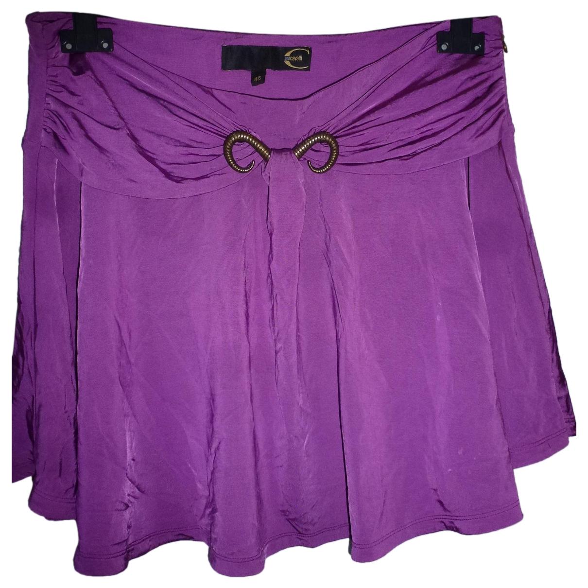 Just Cavalli - Jupe   pour femme - violet