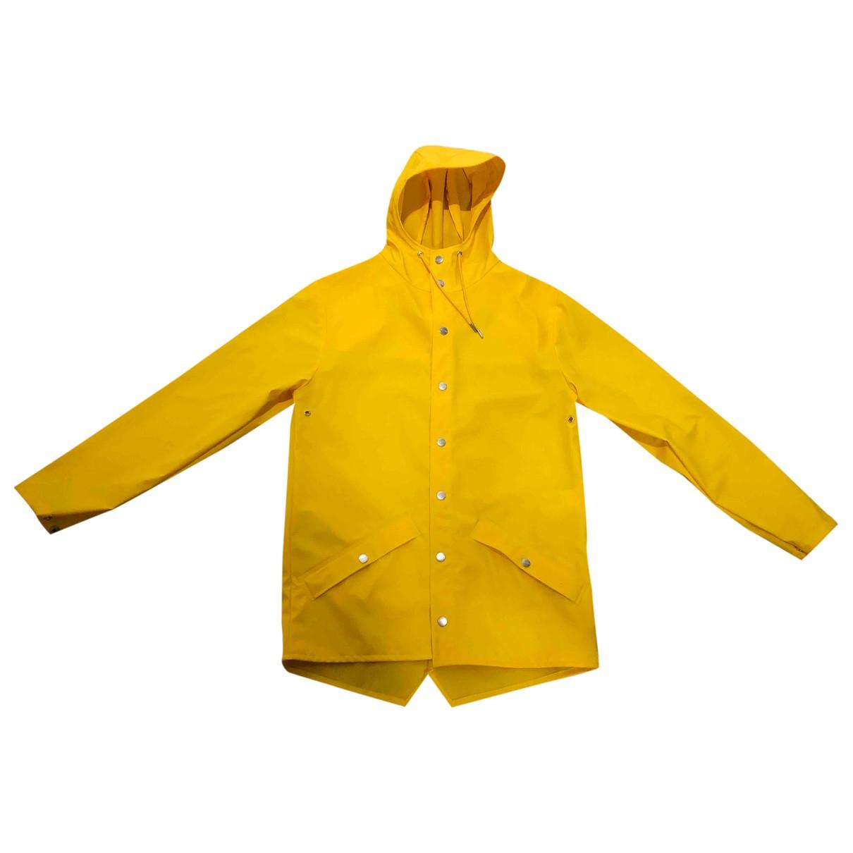 Rains - Veste   pour femme - jaune