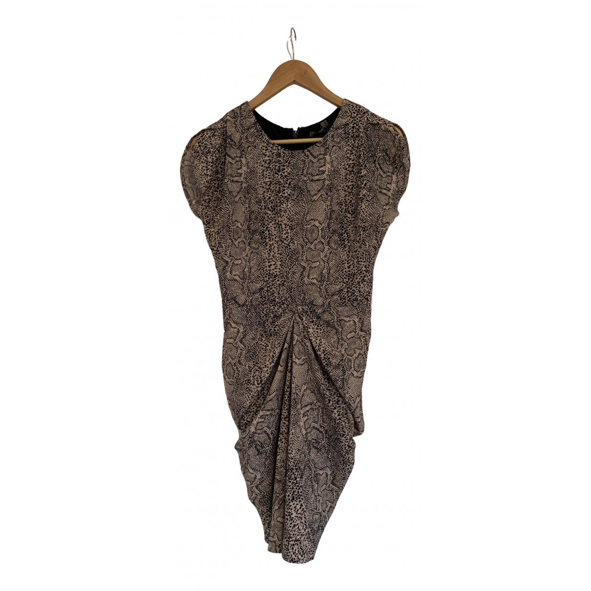 Guess \N Kleid in  Beige Polyester