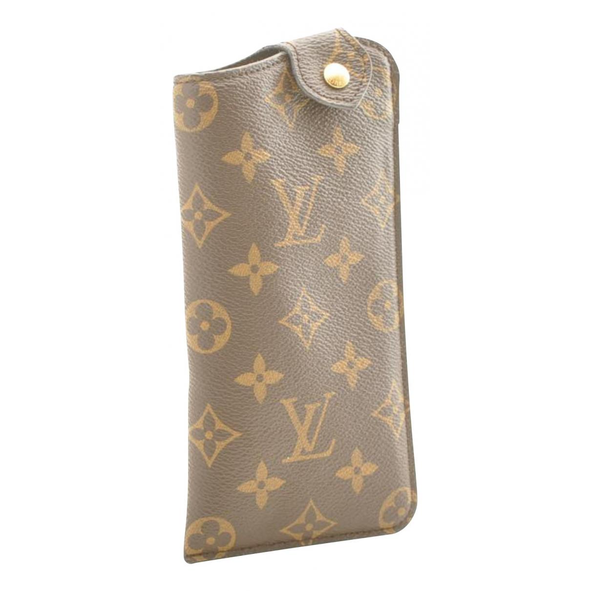 Louis Vuitton - Petite maroquinerie   pour femme en toile - marron