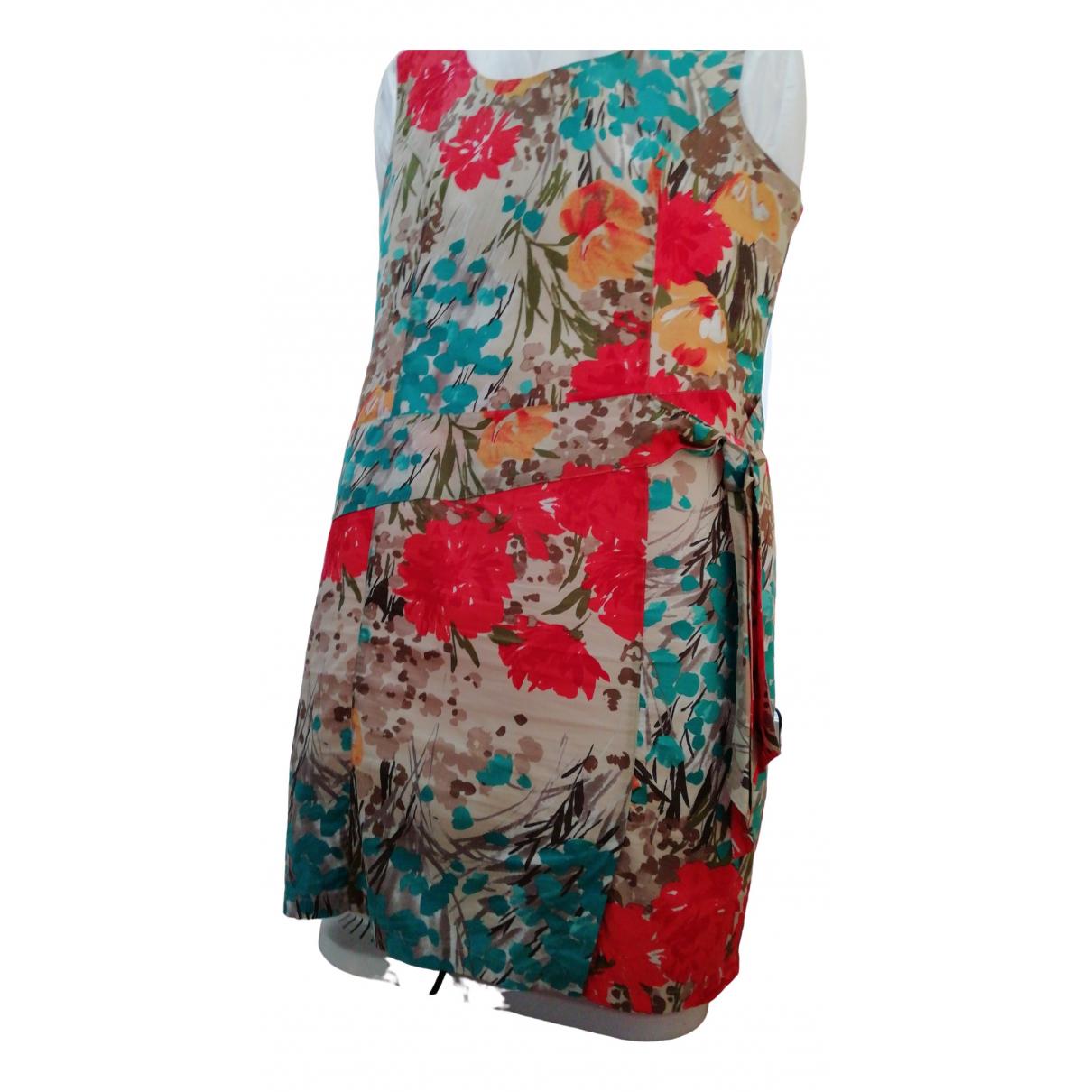 A Détacher \N Ecru Cotton dress for Women 48 FR